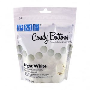 PME Bright White Candy Buttons