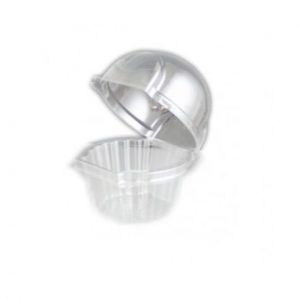 Large Plastic Hinged Cupcake Pods