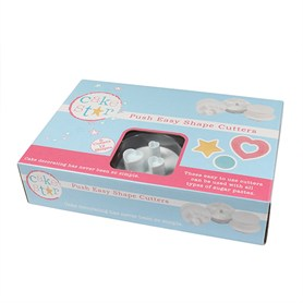 Cake Star Push Easy Cutters – Shapes