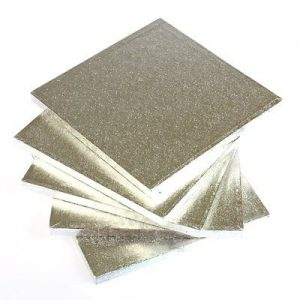 Cake Drums Square (Silver) – Bulk packs