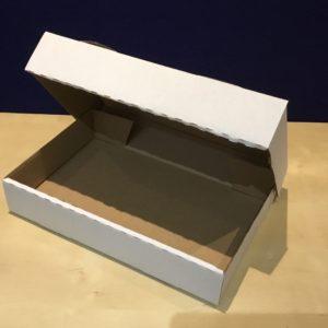 Tray Bake Boxes – White Corrugated
