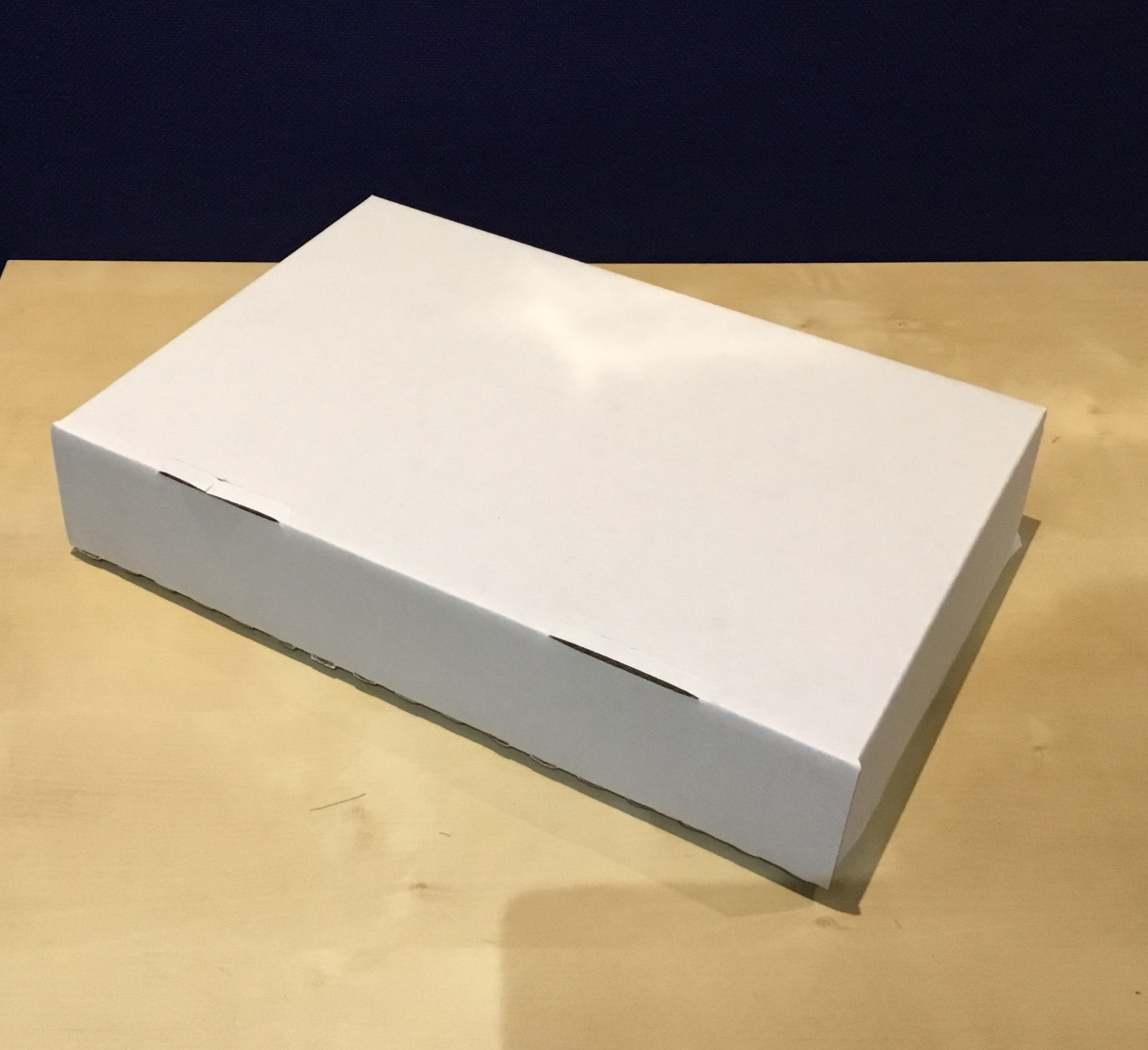 Tray Bake Boxes White Corrugated Tom Anderson