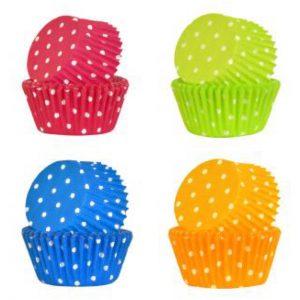 Polkadot Cupcake Cases